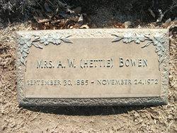 Hettie B <i>Jones</i> Bowen