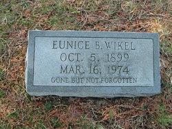 Eunice Myrtle <i>Broyles</i> Wikel