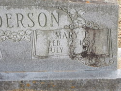 Mary Elizabeth <i>Reeves</i> Anderson