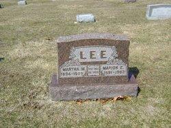 Marion Ernest Lee