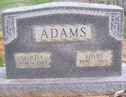 Myrtle T. <i>Minner</i> Adams