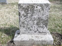 Belle M Anderson