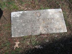 Elijah Kenneth Wolfe