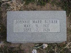 Johnnie Marr Bleiker