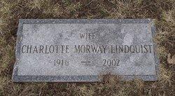 Charlotte <i>Morway</i> Lindquist