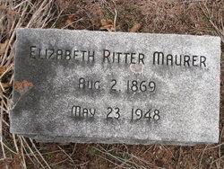 Lydia Elizabeth <i>Ritter</i> Maurer