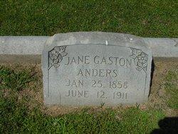 Jane <i>Gaston</i> Anders
