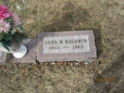 Lura May <i>Ball</i> Baldwin