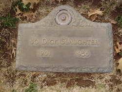 Jo Dick Slaughter