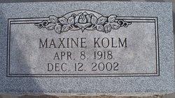 Maxine <i>Sayers</i> Kolm