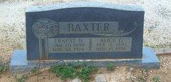 Alice Gertrude <i>Foster</i> Baxter
