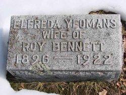 Elefreda <i>Yeomans</i> Bennett