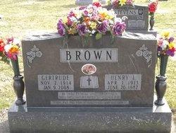 Gertrude <i>Butcher</i> Brown