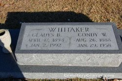 Gladys B <i>Truitt</i> Whitaker