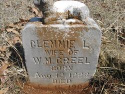 Clemmie L <i>Ellis</i> Creel