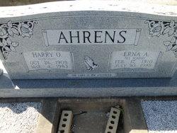 Harry O Ahrens