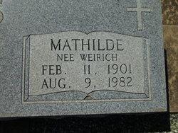 Mathilde <i>Weirich</i> Borchers