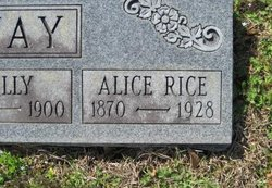 Alice <i>Rice</i> Gannaway