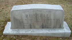 Pvt George Whitefield Russell
