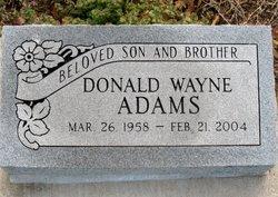 Donald Wayne <i>Duck</i> Adams