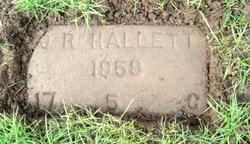 Olive R Hallett