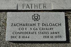 Zachariah Taylor DeLoach