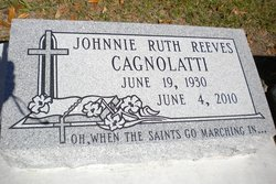 Johnnie Ruth <i>Reeves</i> Cagnolatti