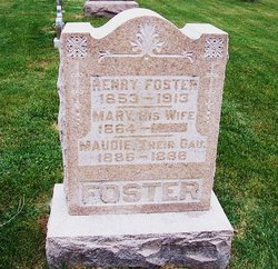 Mary F <i>Catton</i> Foster