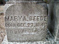 Mary A. Beebe
