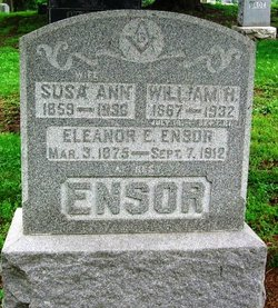 Susa Ann <i>Higson</i> Ensor