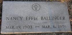 Nancy Effie <i>Daniel</i> Ballinger