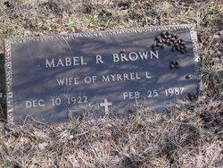 Mabel Ruth <i>Shellito</i> Brown