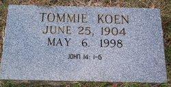 Thomas <i>Tommie</i> Koen