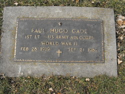 Lieut Paul Hugo Gage