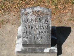 Agnes <i>Hanskecpin</i> Abraham