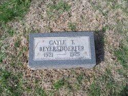 Gayle T. Beyersdoerfer