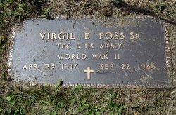 Virgil Ernest Foss, Sr
