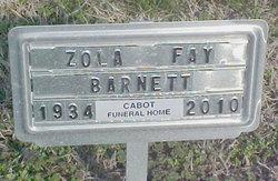 Zola Fay Barnett