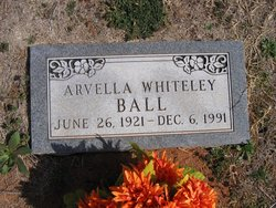 Arvella <i>Whiteley</i> Ball