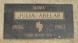 Julia <i>Sandoval</i> Abelar