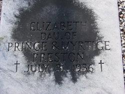 Elizabeth Preston