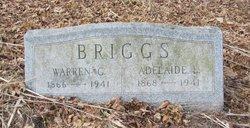 Adelaide Della/Addie <i>Lewis</i> Briggs