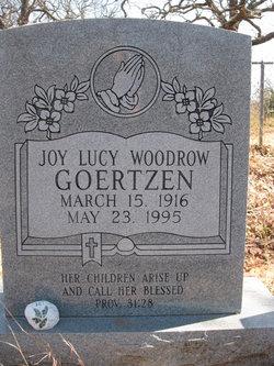 Joy Lucy <i>Woodrow</i> Goertzen