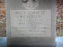 Billy Forrest Wilkerson
