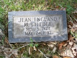 Jean <i>England</i> Ruttledge