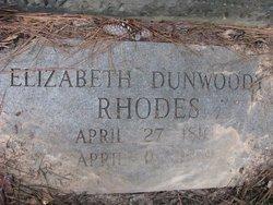 Elizabeth <i>Dunwoody</i> Rhodes