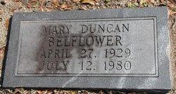 Mary <i>Duncan</i> Belflower