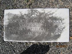 Andrew Jackson Friddle