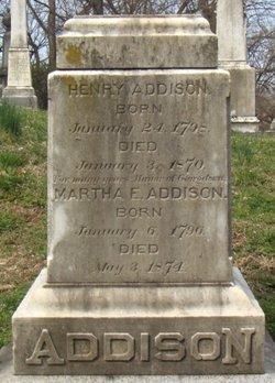 Martha Eleanor <i>Clagett</i> Addison