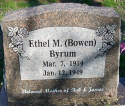 Ethel M. <i>Bowen</i> Byrum